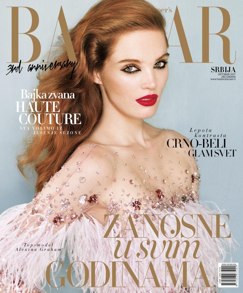 Harpers Bazaar cover shoot by Andrea Klarin
