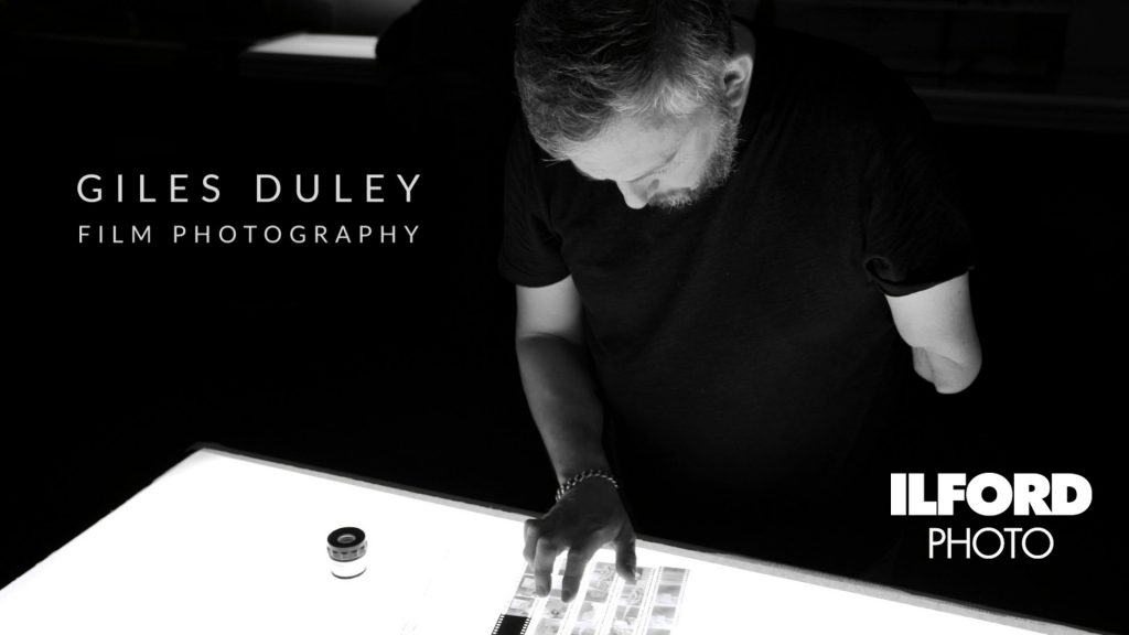 Giles Duley talking about shooting on film