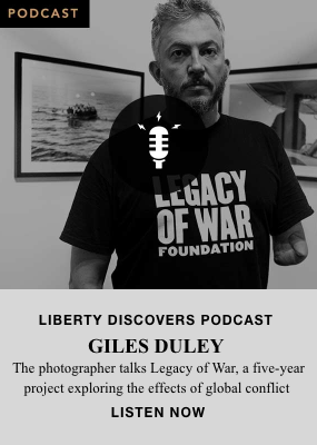 Giles Duley podcast with Liberty London