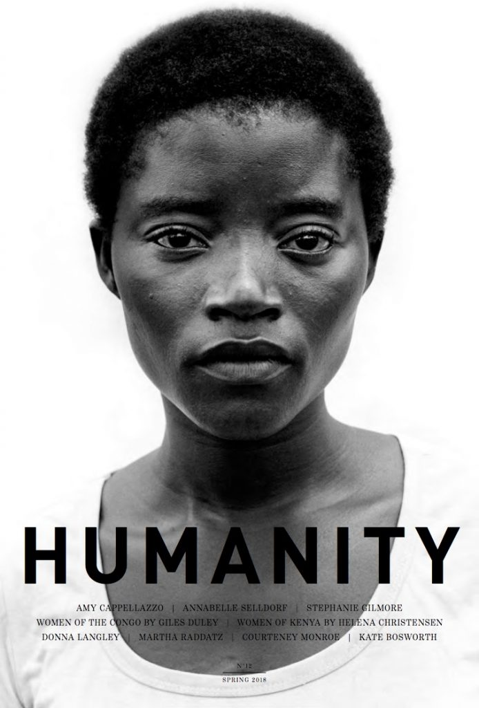 We Are HereBecause We Are Strong for UNHCR and Humanity magazine