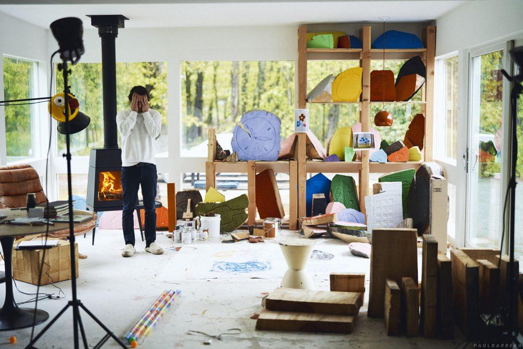 Olaf Breuning Studio